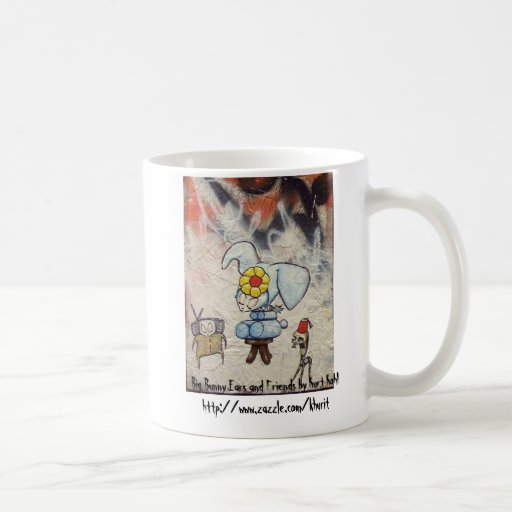 Big Bunny Ears and Friends Mug