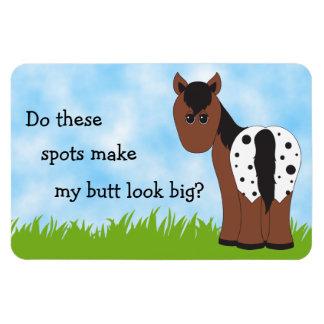 Big Butt Appy Blanket Appaloosa Magnet