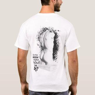 Big Butt Marble Statue T-Shirt