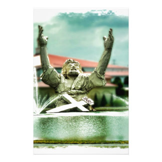 Big Butter Jesus  Touchdown Jesus Stationery