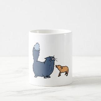 Big Cat Little Dog Coffee Mugs