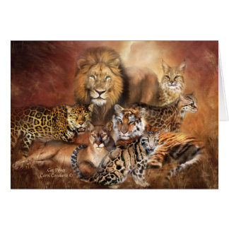 Big Cats ArtCard Card