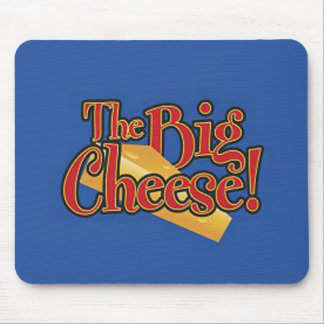 Big Cheese Decal Mouse Pad