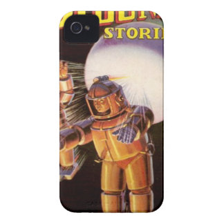 Big Chunky Spacesuits iPhone 4 Cases