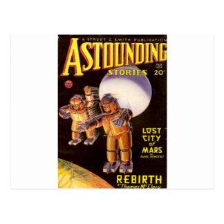 Big Chunky Spacesuits Postcard