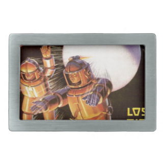 Big Chunky Spacesuits Rectangular Belt Buckles