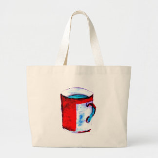 big coffee cup canvas bags