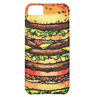 Big, colorful hamburger iPhone 5C case