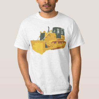Big Construction Bulldozer on Tracks T-Shirt