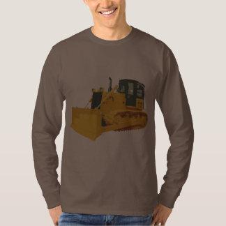 Big Construction Bulldozer on Tracks Tees