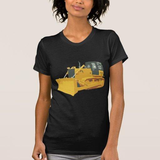 Big Construction Bulldozer on Tracks Tshirt