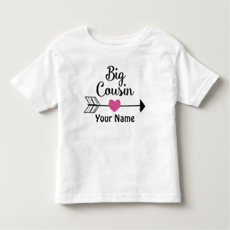 Big Cousin Arrow Personalised T-shirt