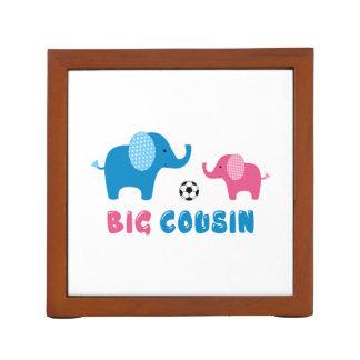 Big Cousin Elephant soccer Desk Organiser