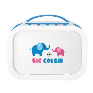 Big Cousin Elephant soccer Lunch Box