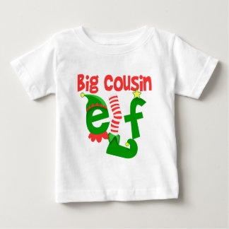 Big Cousin Elf Christmas Baby T-Shirt