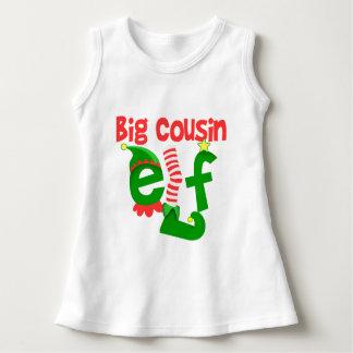 Big Cousin Elf Christmas Dress