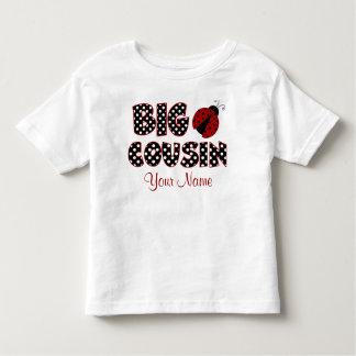 Big Cousin Ladybug Personalised Shirt