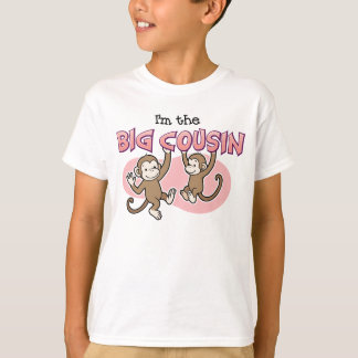 Big Cousin Monkey announcement T-Shirt