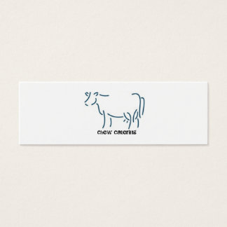 Big cow business card
