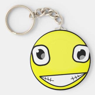 Big Crazy Smile Key Ring