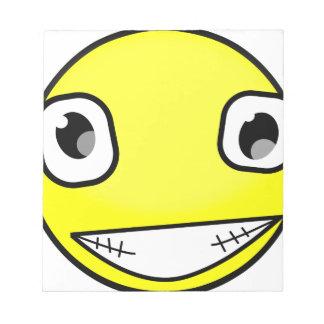 Big Crazy Smile Notepad