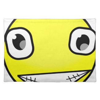 Big Crazy Smile Placemat