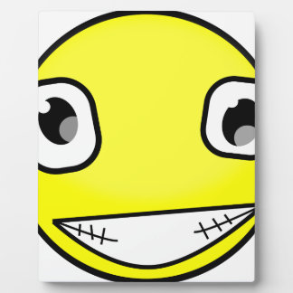 Big Crazy Smile Plaque
