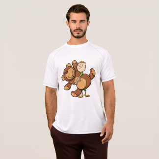 Big Cuddly Teddy Bear Mens Active Tee