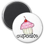 Big Cupcake 6 Cm Round Magnet