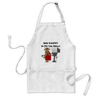 Big Daddy is On The Grill Apron