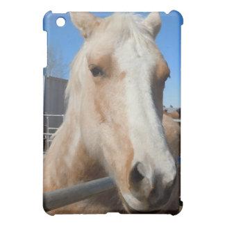 Big Dark Eyes Golden Blond Palomino Pony Case For The iPad Mini