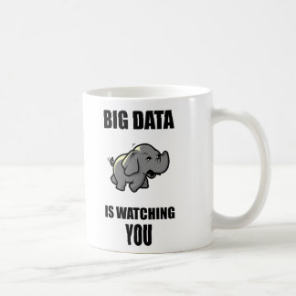 Big data is watching you coffee mug
