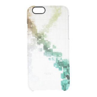 Big Data Visualization Analytics Technology Clear iPhone 6/6S Case