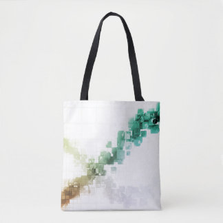 Big Data Visualization Analytics Technology Tote Bag
