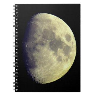 Big Detailed Moon Notebook