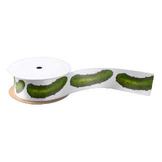 Big Dill Pickle Green Pickles Ribbon Satin Ribbon