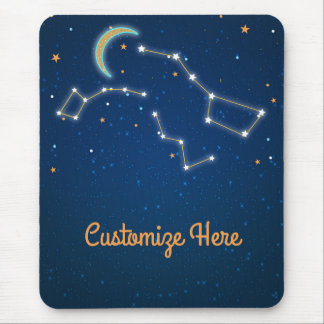 Big Dipper Star Gazing Constellation Celestial Mouse Pad
