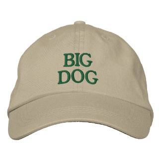 Big Dog Embroidered Baseball Cap