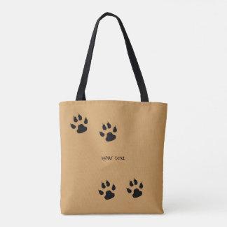 Big Dog Prints Tote Bag