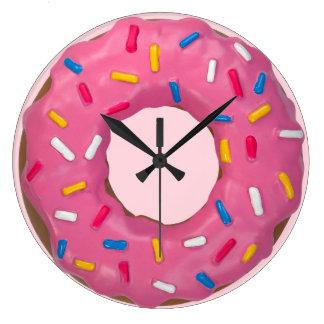 Big Donut Wall Clocks