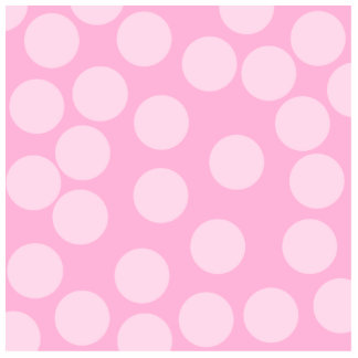 Big Dots Pattern. Pale Pink and Candy Pink. Standing Photo Sculpture