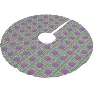 BIG DOTS Tree Skirt (Brushed Poly) Made in USA