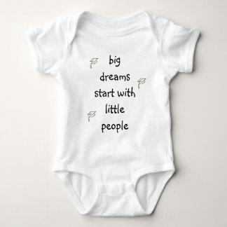 Big Dreams Start With Little People Baby Bodysuit