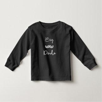 big dude black sweat toddler T-Shirt
