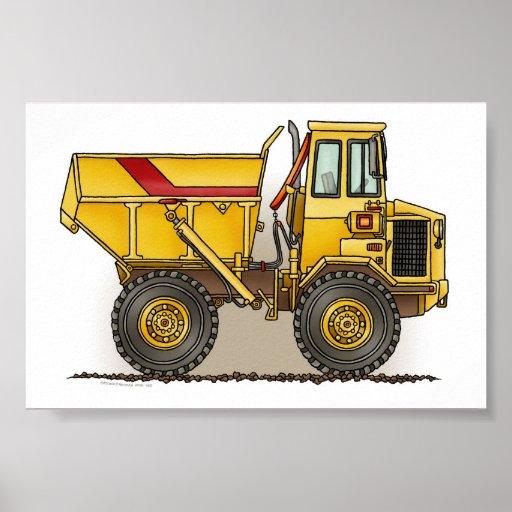 Big Dump Truck Poster