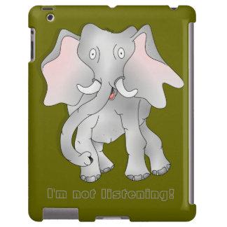 "Big eared African Elephant  "" I'm not listening """