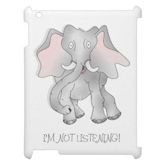 Big eared elephant ipad case. iPad covers
