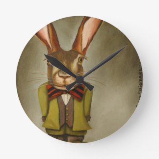Big Ears Round Clock