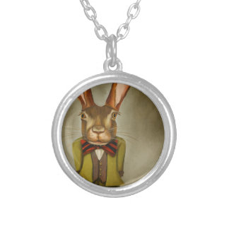 Big Ears Silver Plated Necklace