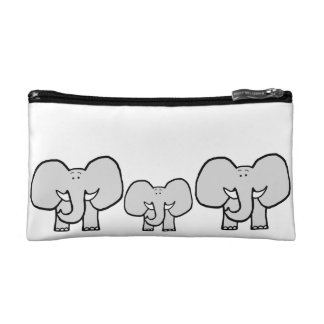 Big Ears the Elephant Pattern Pencil Case